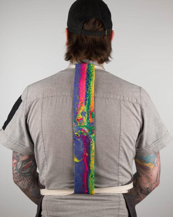Paint Pour Apron Tie
