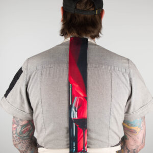 Red Wine Apron Tie