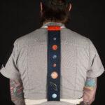 Galaxy Apron Tie