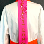 Vegas Strong Breast Cancer Apron Tie 1